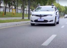 Роботаксі у Китаї (відео)