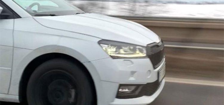 На дорогах помічено найновішу Skoda Fabia 2022