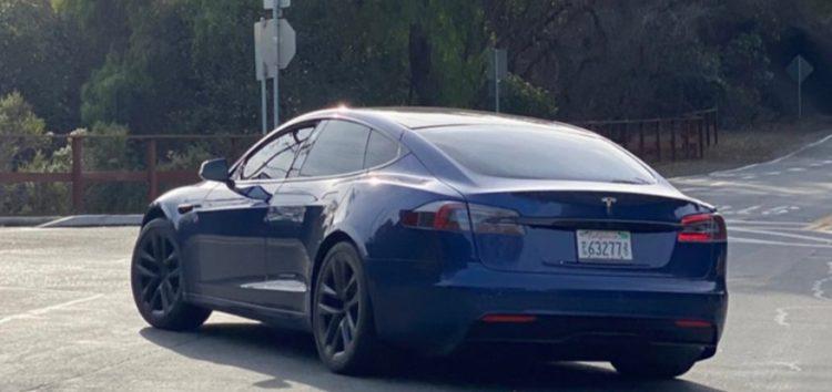 Нову Tesla Model S помітили в Пало-Альто (відео)