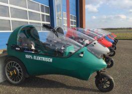 В Нідерландах створили триколісний електромобіль LEF