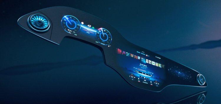Mercedes-Benz зробив всю торпедо у вигляді 56-дюймового екрану