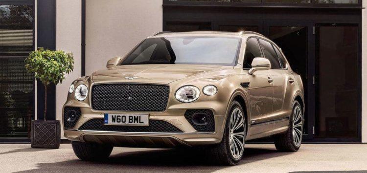 Bentley представив оновлений Bentayga