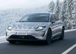 Перший електромобіль від Sony вже на дорогах Європи