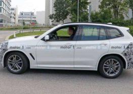 З'явились фото оновленого BMW X3