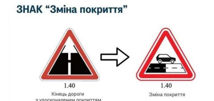 Нові дорожні знаки в Києві