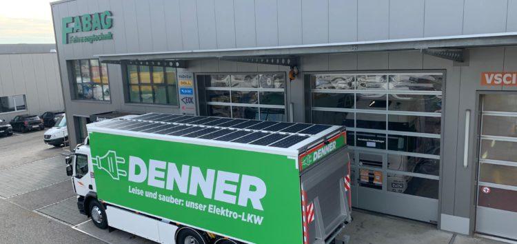 У Швейцарії на електровантажівку поставили сонячні батареї