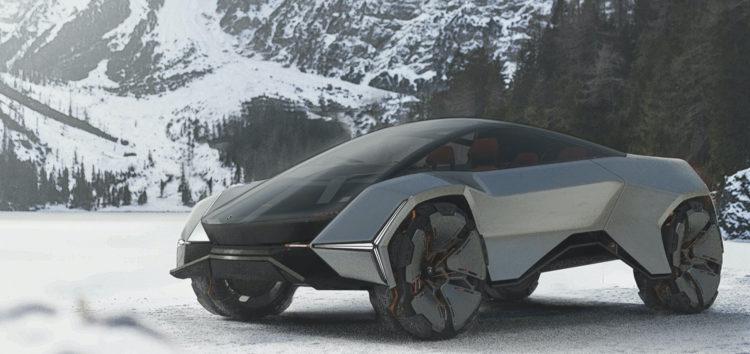 Показали яким може бути Lamborghini LM-040 у 2040 році