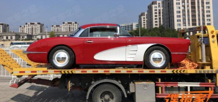 Китайці продаватимуть репліку Chevrolet Corvette 1958 року