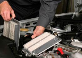 Як міняти повітряний фільтр