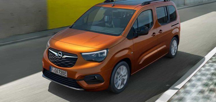 Компанія Opel представила новинку Combo-e Life