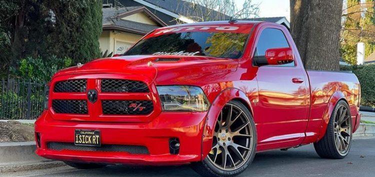Показали тюнінг-версію пікапа Dodge RAM 1500