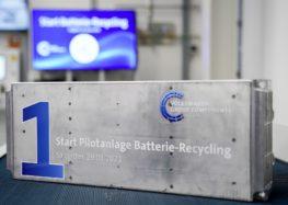 Volkswagen відкрив завод з переробки акумуляторних систем