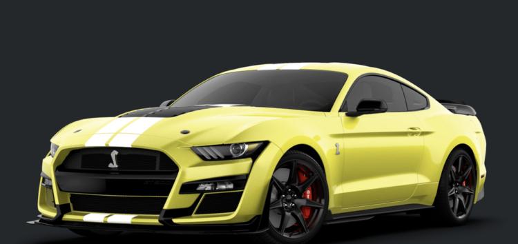 Ford представив новий Mustang Shelby GT500