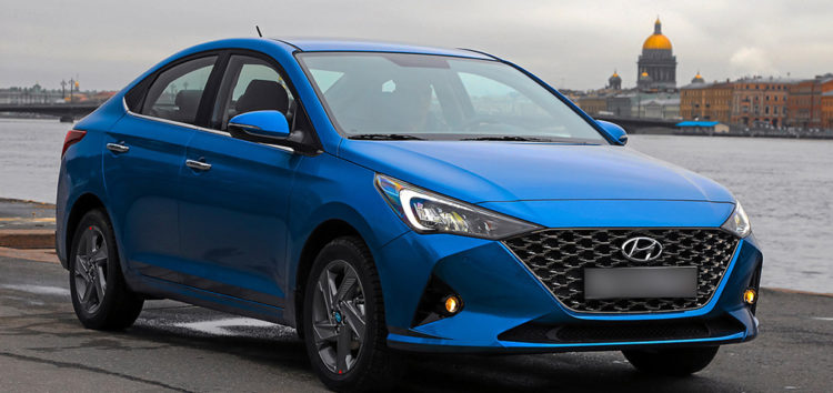 Показали як може виглядати новий Hyundai Solaris
