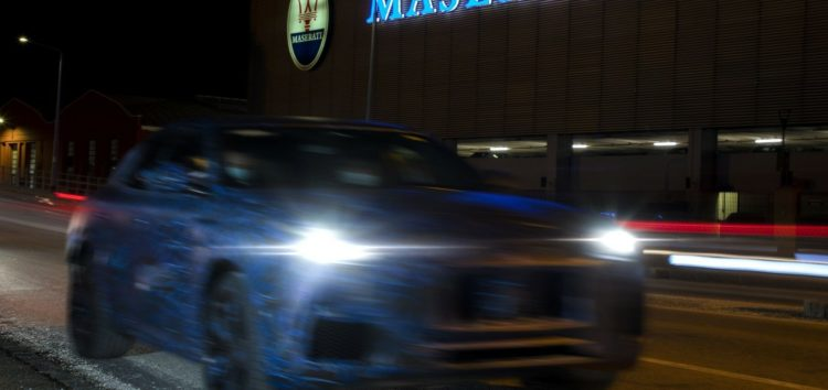 Maserati показала фото нового Grecale