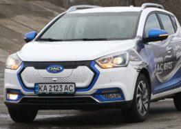 В Україні продають доступний електромобіль JAC iEV7S