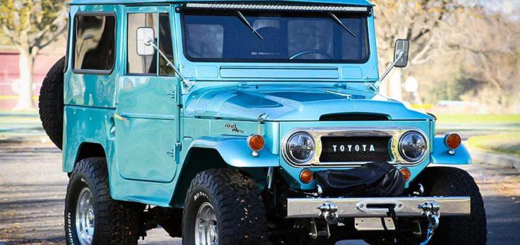 На аукціоні з'явився позашляховик Toyota Land Cruiser 1965 року