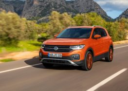 Новинка Volkswagen T-Cross вже в Україні