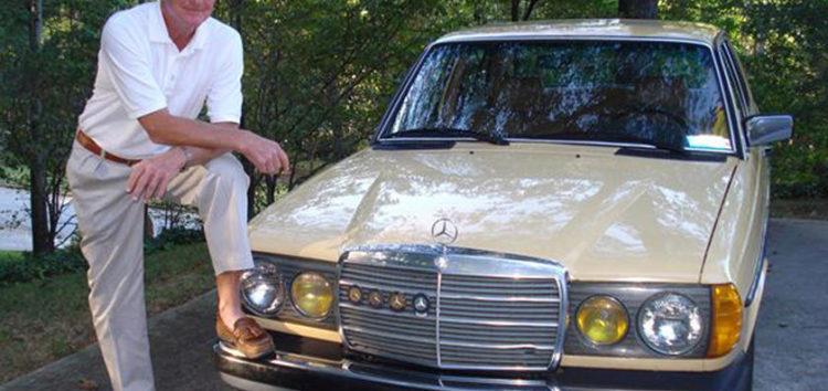 Американець показав Mercedes з пробігом майже 2 мільйони