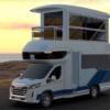 SAIC Maxus показали двоповерховий будинок на колесах