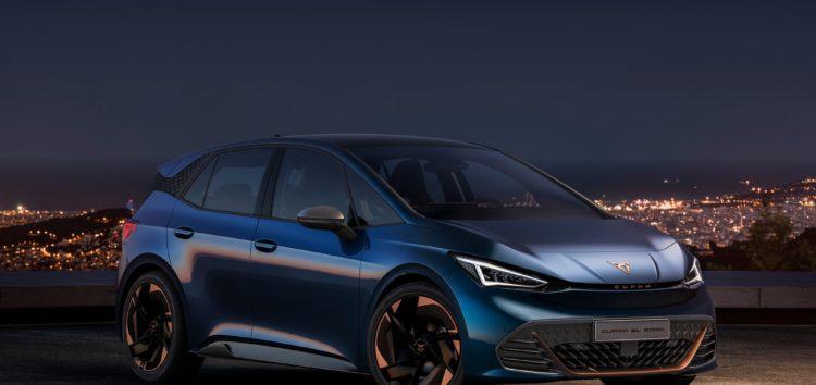 Назву серійної моделі електрокара Cupra el-Born скоротили до Cupra Born