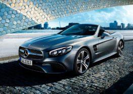 Компанія Mercedes-Benz вивела на тести новий родстер Mercedes SL