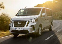 Nissan представив оновлений мікроавтобус NV300 Combi