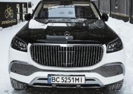 На українських дорогах роз'їжджає розкішний Maybach