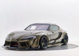 Прем'єра Toyota Supra з карбон-кевларовим кузовом