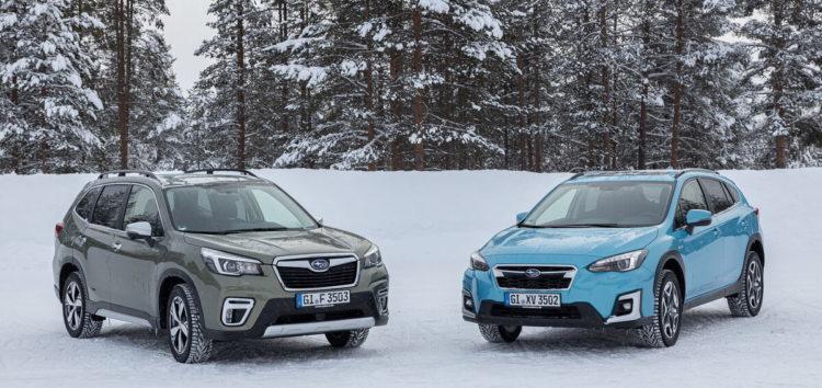 В Україні презентували дві гібридні моделі Subaru