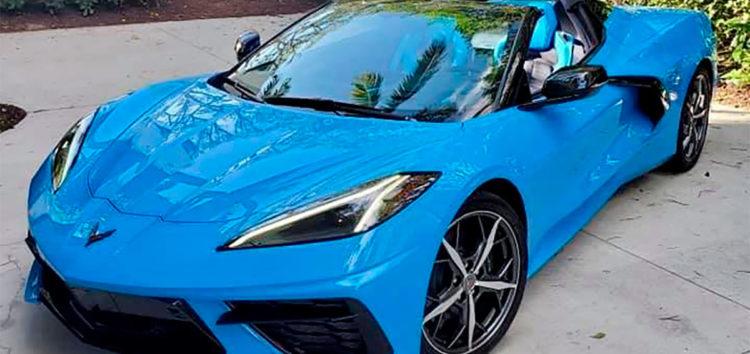 Відомий актор отримав новий Chevrolet Corvette позачергово