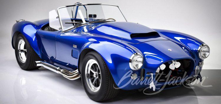На аукціоні з'явиться унікальний автомобіль Керола Шелбі