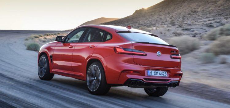 BMW випробовує оновлений кросовер X4