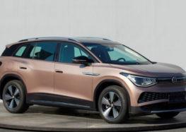 Volkswagen представив свій новий електрокар ID.6 X