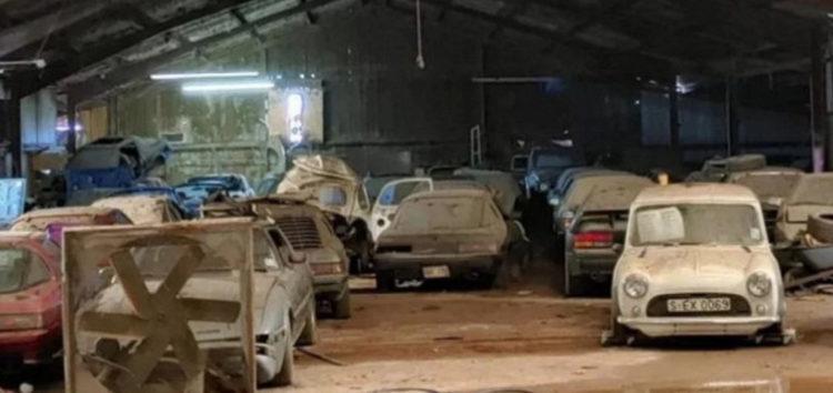 У США знайдений сарай з раритетними автомобілями Mazda