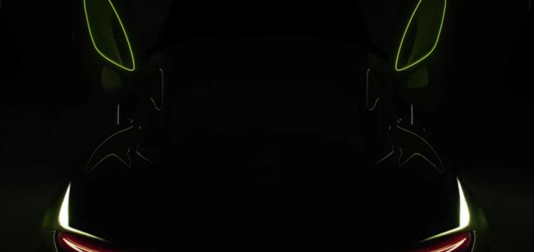 McLaren показав тизер гібридного Artura (відео)