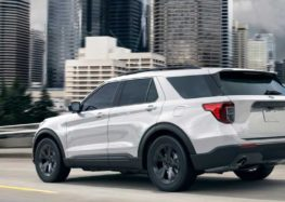 Показана нова версія Ford Explorer 2021