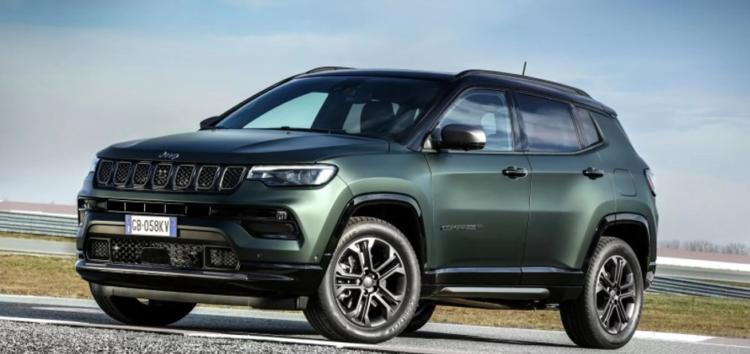 Оновлений Jeep Compass вже на дорогах Європи