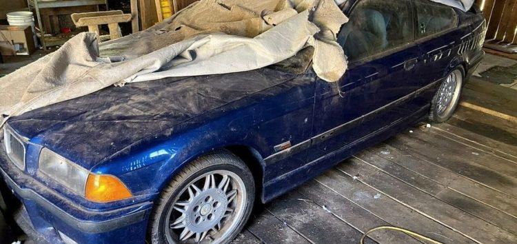Знайшли «сарайне» BMW M3 E36