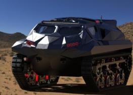 Highland Systems випустила автомобіль на гусеничному ходу