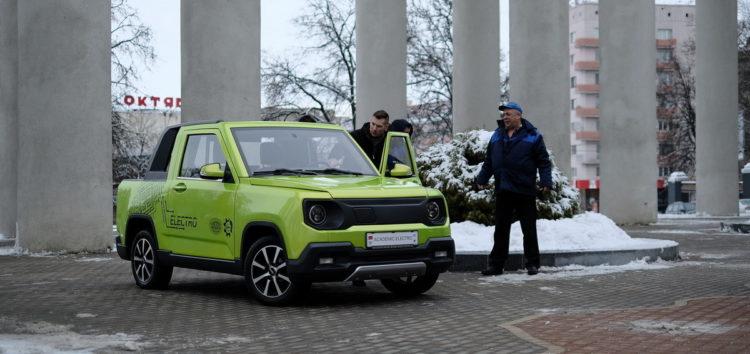 У Білорусі представили перший електромобіль власного виробництва