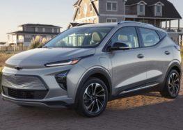 Chevrolet представив оновлену версію Bolt EUV