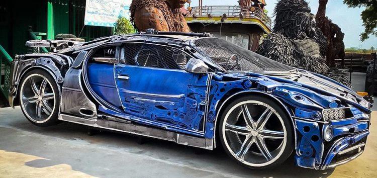 В тайському музеї виставили ексклюзивні моделі авто з металобрухту