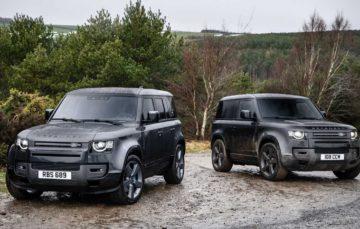 Обновленный Land Rover Defender 2022