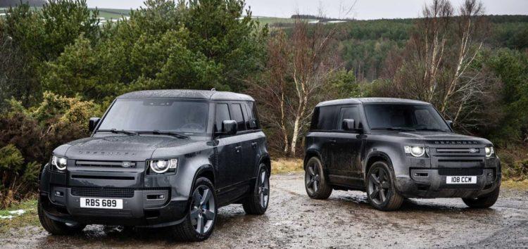 Оновлений Land Rover Defender 2022