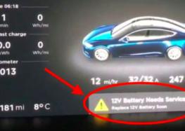 """Tesla замінила """"звичайні"""" батареї літій-іонними"""