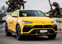 Lamborghini вивела на тести оновлений Urus