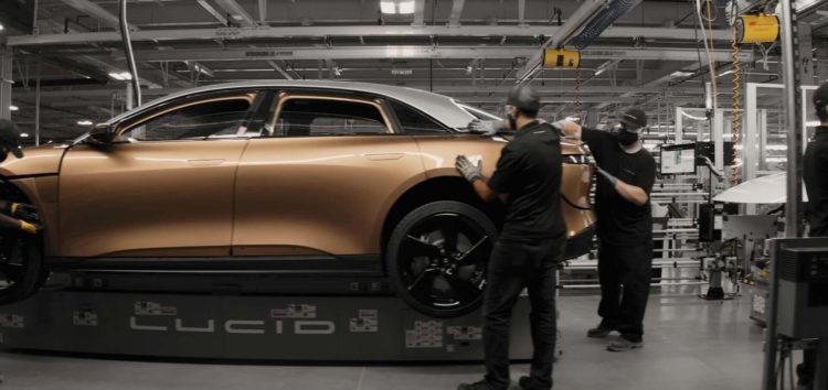 Завод Lucid Motors показали в деталях