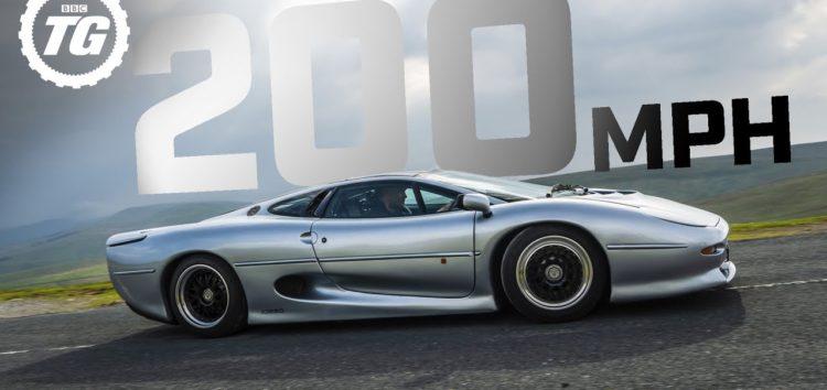 30-річний Jaguar розігнали до 320 км/год (відео)