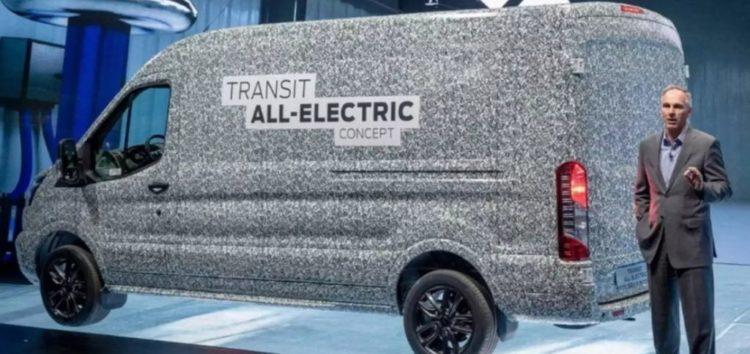 Незабаром Ford випустить Transit Custom у гібридній та електричній версіях